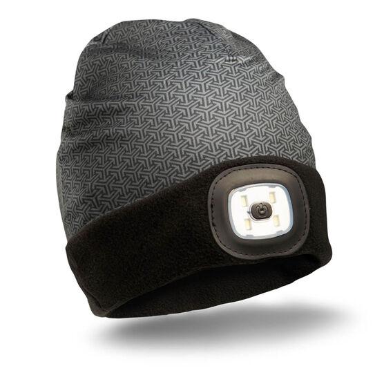 LED Performance Beanie - Midnight