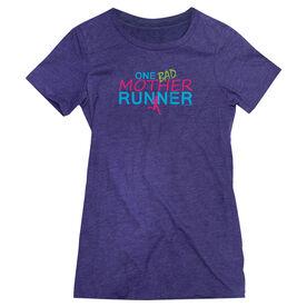 Women's Everyday Runners Tee One Bad Mother Runner
