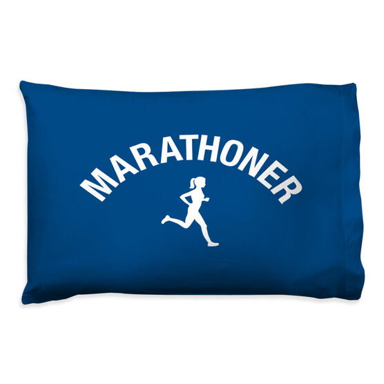 Running Pillow Case - Marathoner Girl
