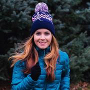 Running Knit Hat - Runner Girl Navy