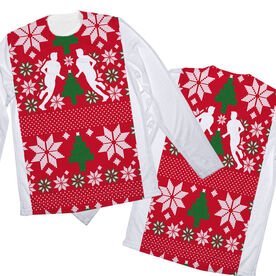 Men's Running Customized Long Sleeve Tech Tee Ugly Sweater Vest
