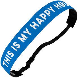 Running Juliband No-Slip Headband - Running Is My Happy Hour