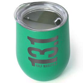 Running Stainless Steel Wine Tumbler - 13.1 Vertical