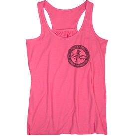 Flowy Racerback Tank Top - Pacific Northwest Ladies Running Group Ambassador Logo (Black)