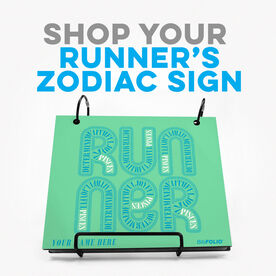 Click to Shop all Running Zodiac BibFOLIOS
