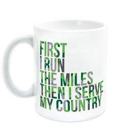 Running Coffee Mug - Then I Serve My Country