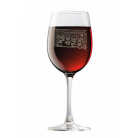 Wine Glass South Dakota State Runner