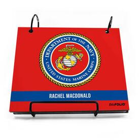 BibFOLIO® Race Bib Album - U.S.M.C. Seal