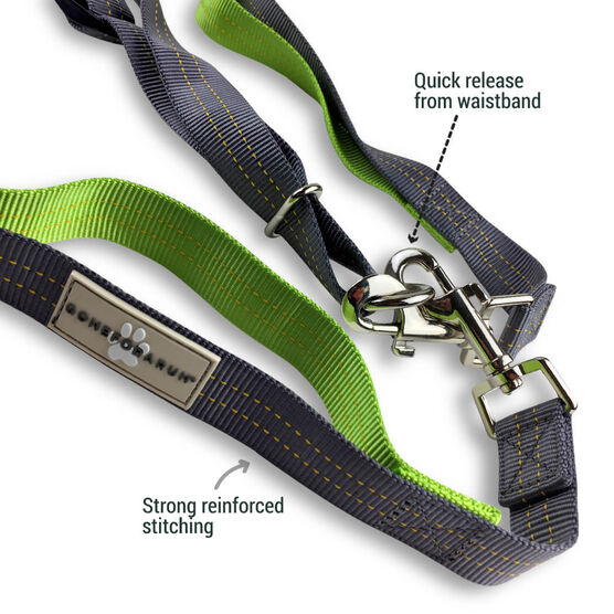 Gone For a Run Hands-Free Dog Leash For Running & Walking