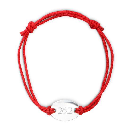 Sterling Silver Cord Bracelet 26.2