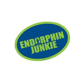Endorphin Junkie Mini Car Magnet - Fun Size