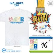 Virtual Race - Run, Read, Rock! 5 Miler (2020)