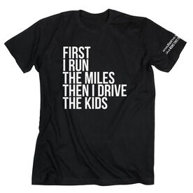 Running Short Sleeve T-Shirt - Then I Drive The Kids MRTT
