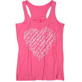 Flowy Racerback Tank Top - Makes Us Stronger