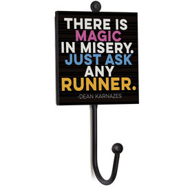 Running Medal Hook - There Is Magic In Misery