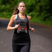 Women's Racerback Performance Tank Top - Beach Run