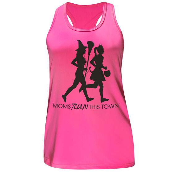 Women's Performance Tank Top - Moms Run This Town Halloween (2017)