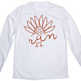 Men's Running Long Sleeve Tech Tee - Turkey Run