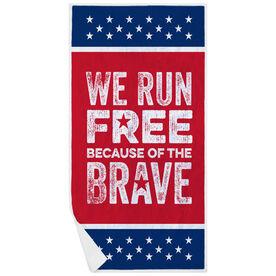 Running Premium Beach Towel - We Run Free