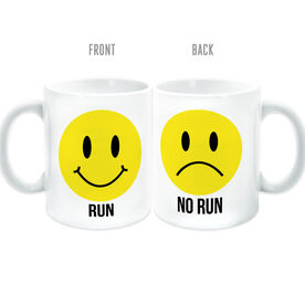 Running Coffee Mug - Run No Run