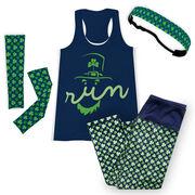 Leprechaun Run Face Running Outfit