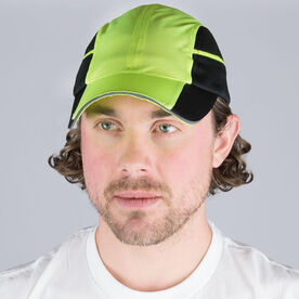 Ultra Pocket Hat for Runners - Safety Yellow