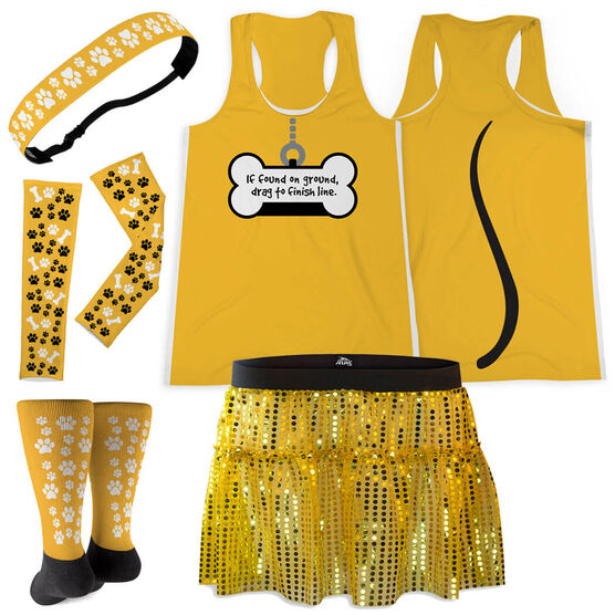 Yellow Dog Running Outfit
