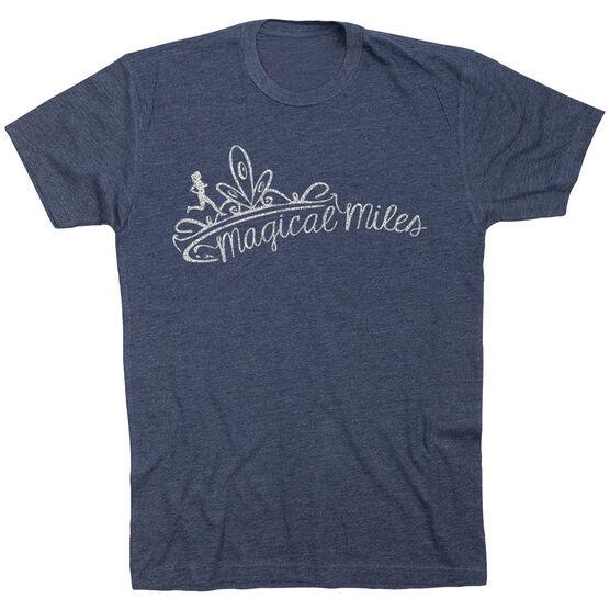 Running Short Sleeve T-Shirt - Magical Miles Glitter