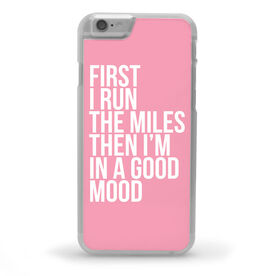 Running iPhone® Case - Then I'm In A Good Mood