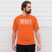 Men's Running Short Sleeve Tech Tee - Run Where the Wild Things Are