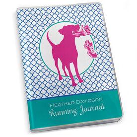 GoneForaRun Running Journal - Dog Quatrefoil Pattern
