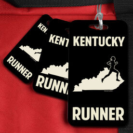 Bag/Luggage Tag Kentucky State Runner Female