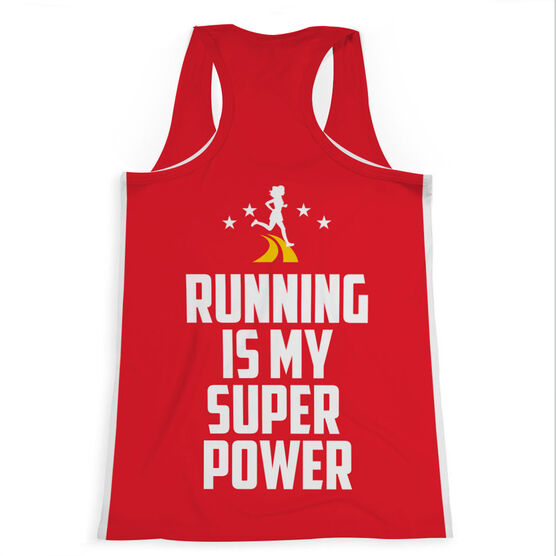 Women's Performance Tank Top - Running Is My Super Power
