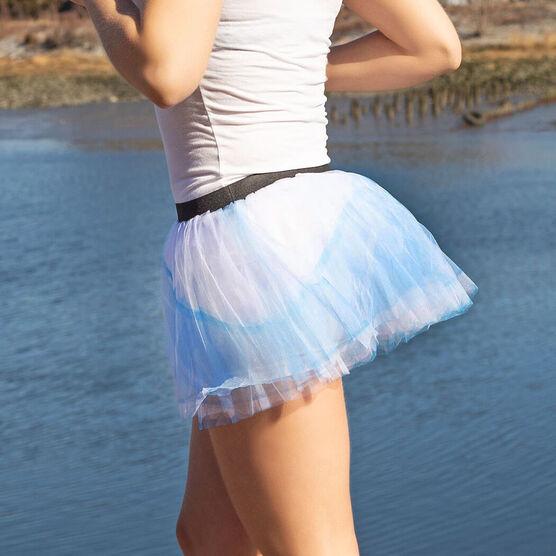Runner's Printed Tutu Glass Slipper