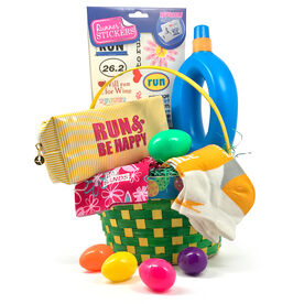 Easter gifts gone for a run happy run easter basket 2018 edition negle Image collections