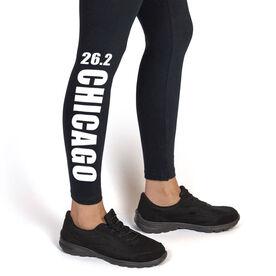 Running Leggings - 26.2 Chicago