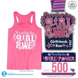 Virtual Race - Girlfriends Run (2021)