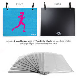 BibFOLIO® Race Bib Album - Running Inspiration Female