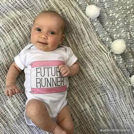 Running Baby One-Piece - Future Runner
