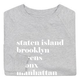 Running Raglan Crew Neck Sweatshirt - Run Mantra - NYC