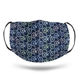 Triathlon Face Mask - Mountain Bike Pattern