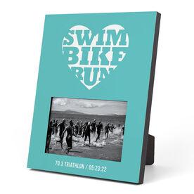 Triathlon Photo Frame - Swim Bike Run