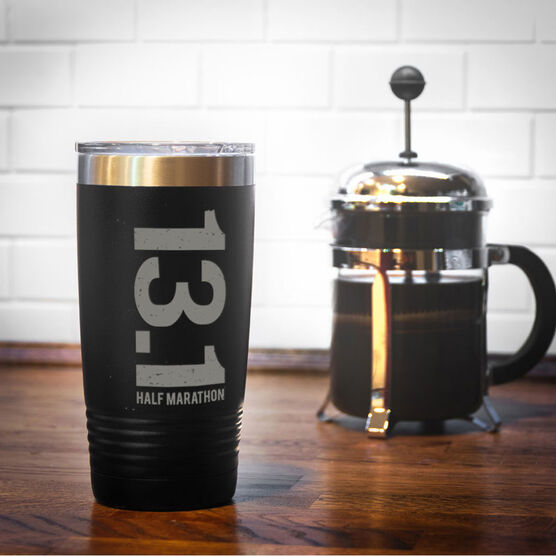 Running 20 oz. Double Insulated Tumbler - 13.1 Vertical