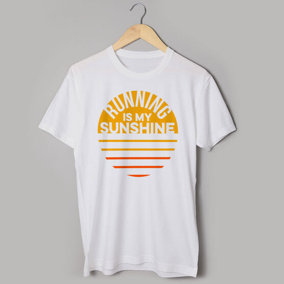 Running Short Sleeve T-Shirt - Running is My Sunshine