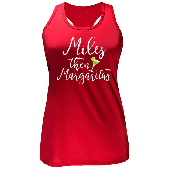 Women's Performance Tank Top - Miles Then Margarita