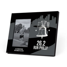 Running Photo Frame - 26.2 Philadelphia Liberty Bell