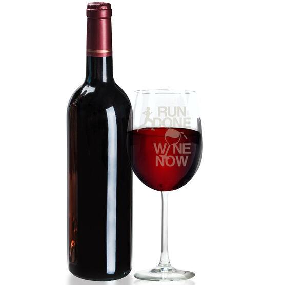 Wine Glass Run Done Wine Now Female