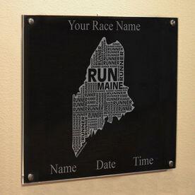Maine State Runner Wall Art