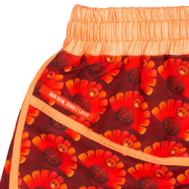 Women's Running Shorts - Run Now Gobble Later