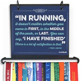 BibFOLIO Plus Race Bib and Medal Display - In Running